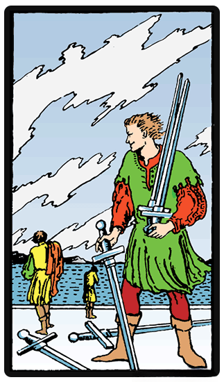 taro card Five of Swords
