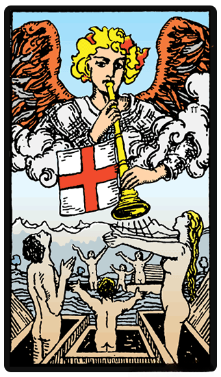 Judgement tarot card