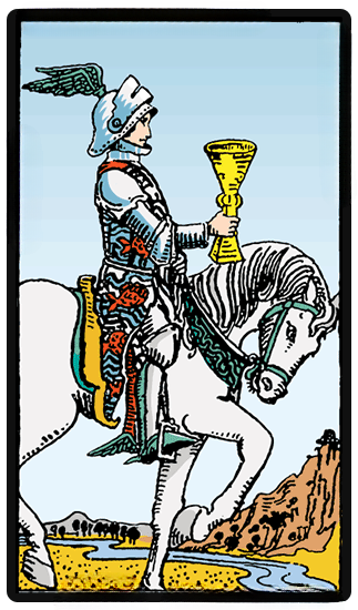 taro card Knight of Cups
