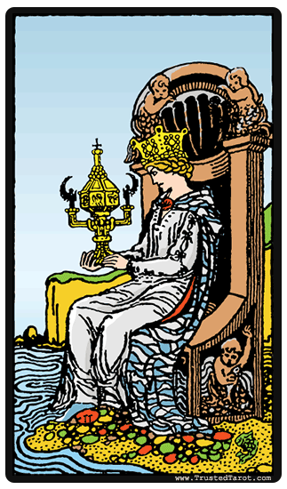 taro card Queen of Cups