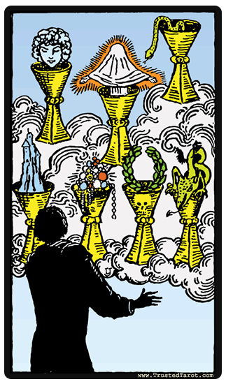 taro korta Seven of Cups