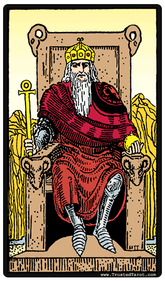 Emperor tarot card