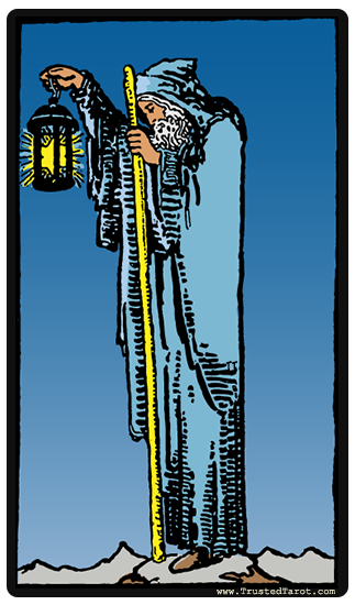 Hermit and Hierophant tarot card combinations