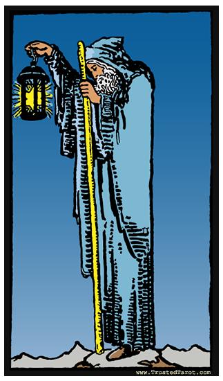 taro card Hermit