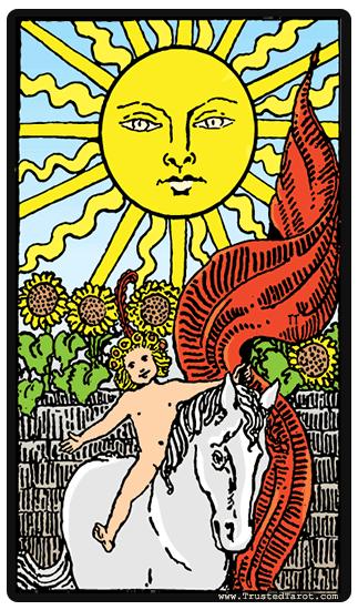 taro card Sun